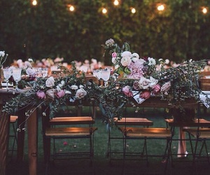 Dream, wedding, and flowers image