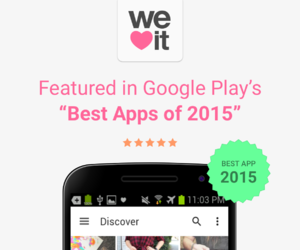 android, app, and we heart it image