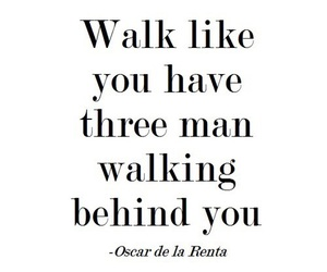 quotes, walk, and man image
