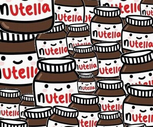 nutella and chiclet image