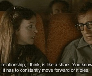 quote, Relationship, and woody allen image