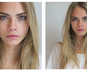 model, cara delevingne, and blonde image