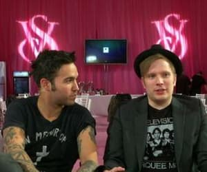live, patrick stump, and pete wentz image