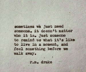 quote, someone, and moment image