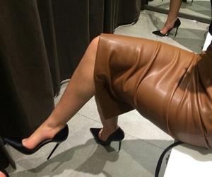 heels, luxury, and midi image