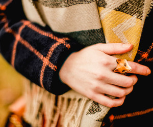 details, ring, and scarf image