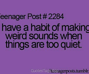 teenager post, quote, and sound image