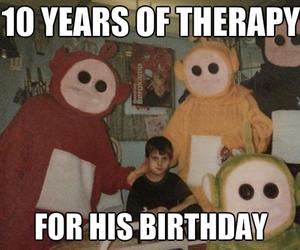 funny, happy birthday!, and kid image