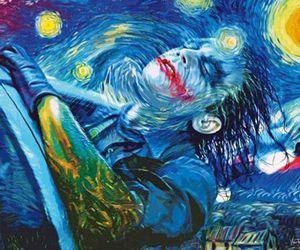 joker, art, and van gogh image