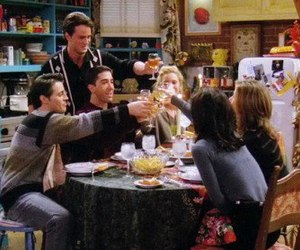 90s, F.R.I.E.N.D.S., and friends image