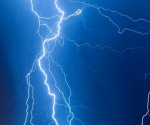 blue, lightning, and white image