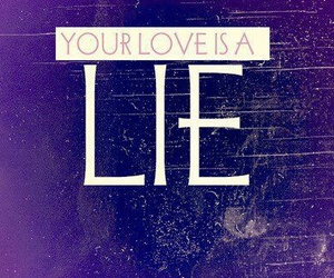 lie, love, and simple plan image