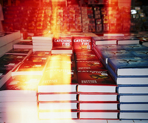 books and catching fire image
