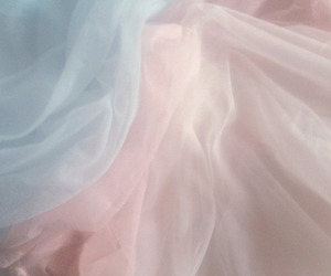 pastel, pink, and fabric image
