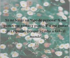 love, frases, and odio image