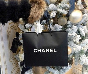 chanel, christmas, and luxury image