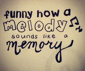 memories, music, and melody image