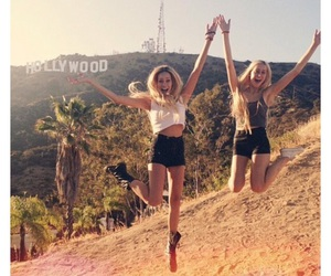 girl, hollywood, and friends image