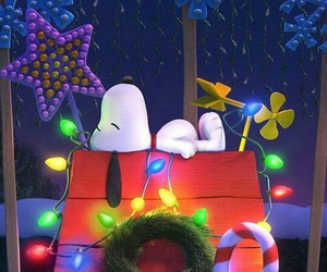christmas, snoopy, and wallpaper image