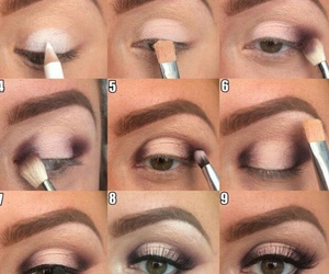 eyes, makeup, and make-up image
