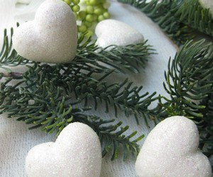 heart, winter, and ️chrismas image