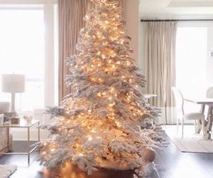 christmas, baby, and tree image