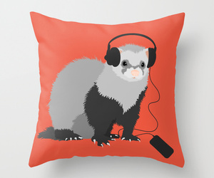 ferret, funny, and music image
