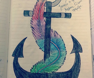 anchor, colors, and drawings image