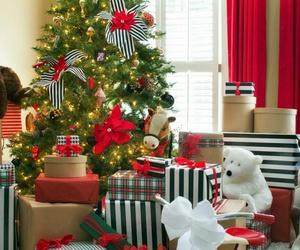 bear, beautiful, and christmas image