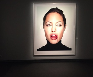 Angelina Jolie and art image