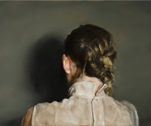 art, girl, and people image