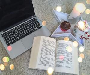 apple, books, and christmas image