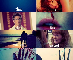annie, finnick, and married image