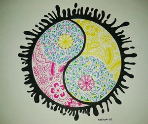 art, colorfull, and drawing image