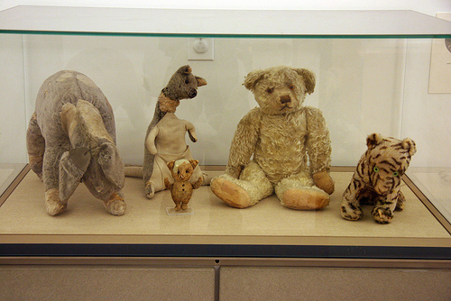 bear, toys, and winnie the pooh image