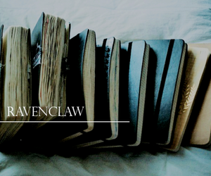 ravenclaw, harry potter, and books image