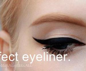 eyeliner and perfect image