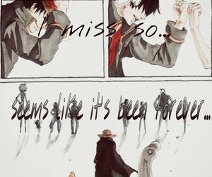 ace, usopp, and anime image