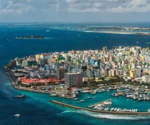 capital, Maldives, and male image