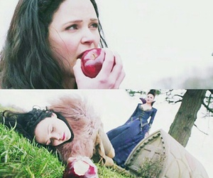 apple, once upon a time, and snow white image