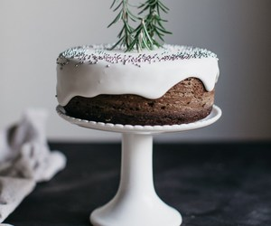 cake, food, and christmas image