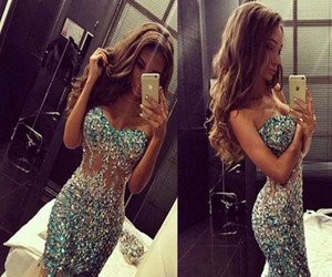 mermaid, wedding, and formal dress image
