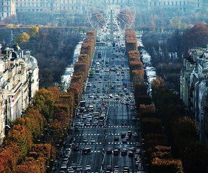 autumn, france, and paris image