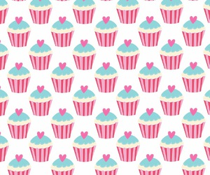 cupcake and wallpaper image