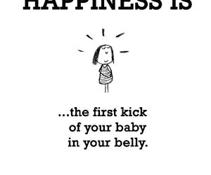 baby, kick, and belly image