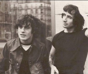 ACDC, angus young, and bon scott image