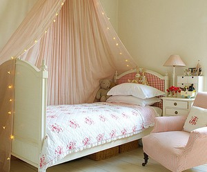 cute, bed, and room image