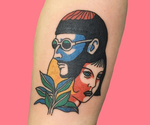 tattoo, leon, and pale image