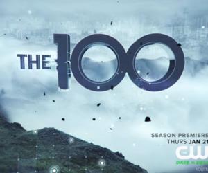 Logo, the 100, and the 100 cw image