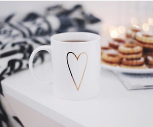 coffee, love, and winter image